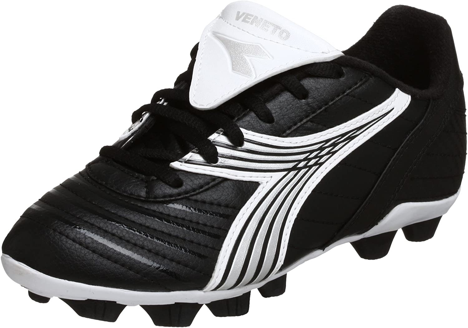 DM Med. Youth Soccer Cleats Diadora Maximus MD Black//White /& various colors