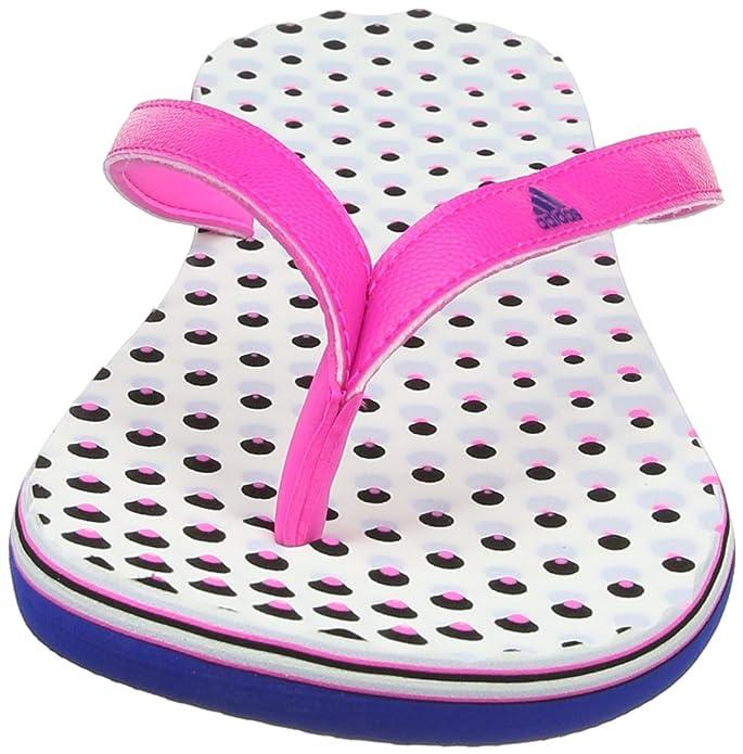 adidas Damen Eezay Dots Dusch-& Badeschuhe, Pink (Shock Pink S16/Collegiate Royal/Aero Blue S18), 43 EU (9 UK)