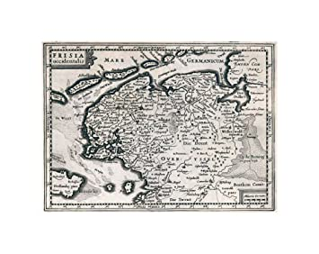 Amazon new york map company mapworld atlas frisia new york map company mapworld atlas frisia occidentalis 1636vintage fine gumiabroncs Choice Image