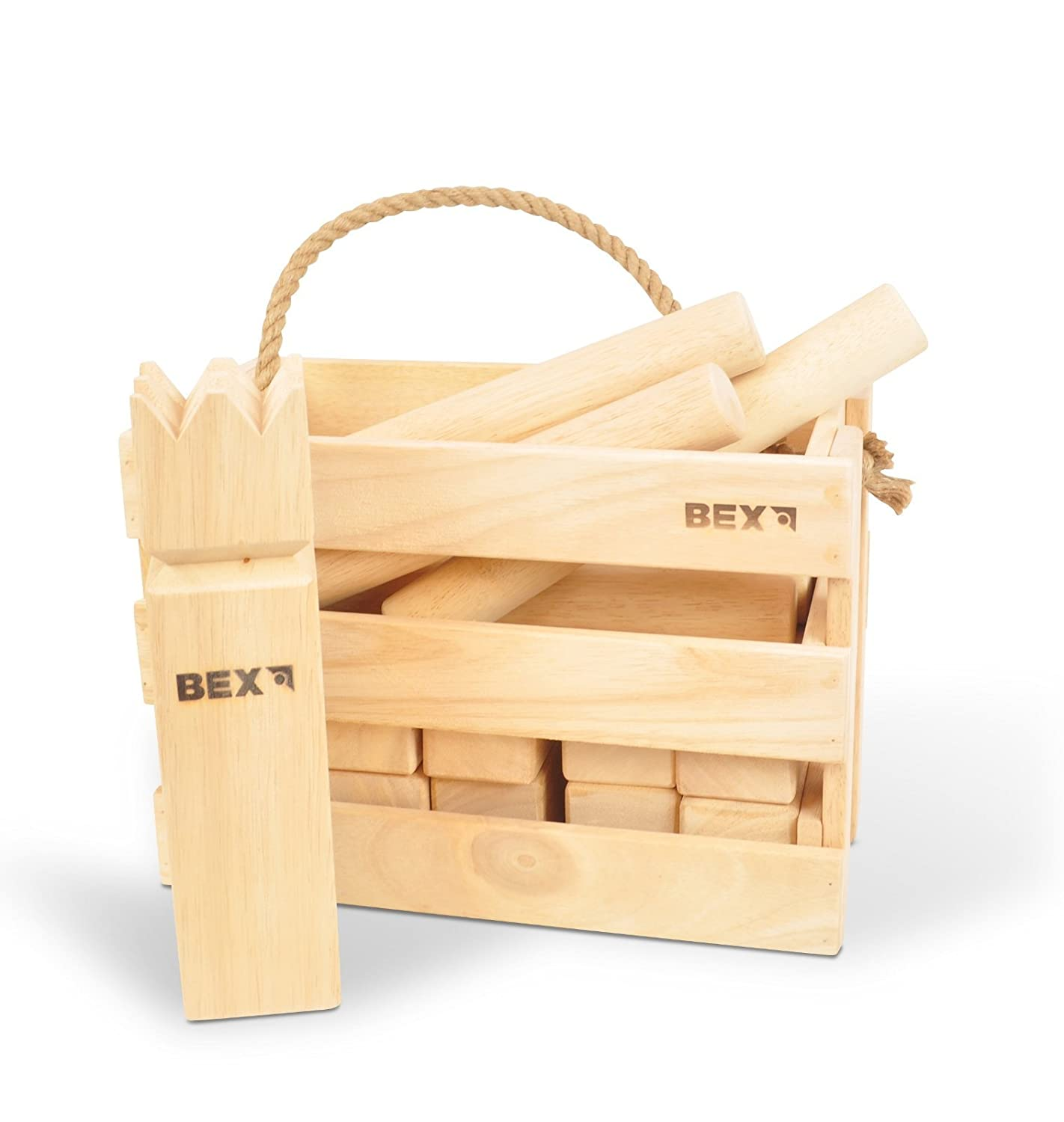 Bex KUBB Viking Original in stilechter Holzbox