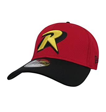 Robin Logo Symbol Red 39thirty Cap At Amazon Mens Clothing Store