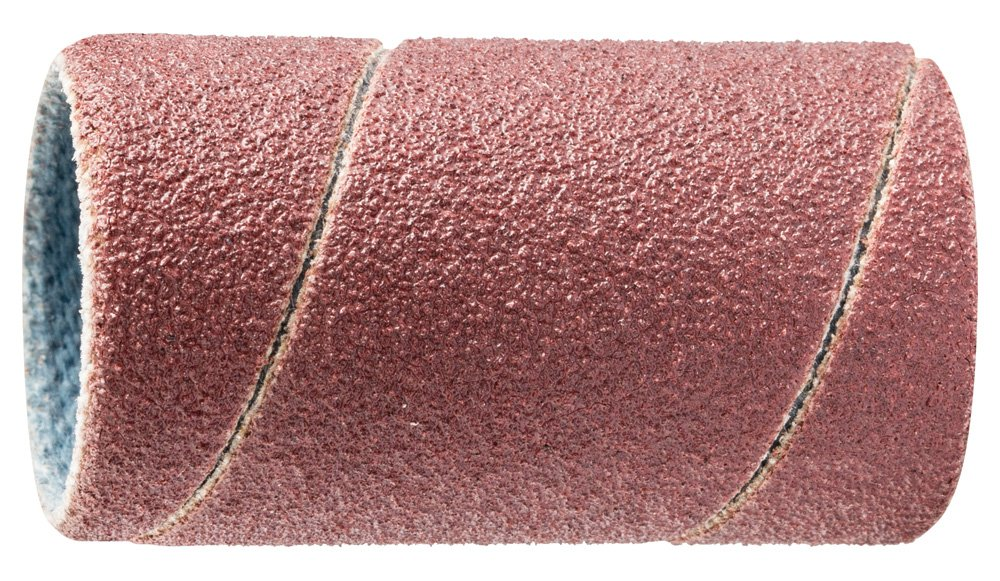 Pack of 100 PFERD 41072 Cylindrical Type Abrasive Spiral Band Aluminum Oxide A 5//8 Diameter x 1-1//8 Length 150 Grit