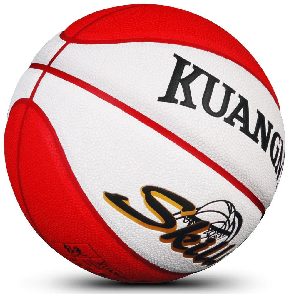 Kuangmi intérieur ou extérieur pour Enfant Junior Taille 5 Ballon de Basket Rose