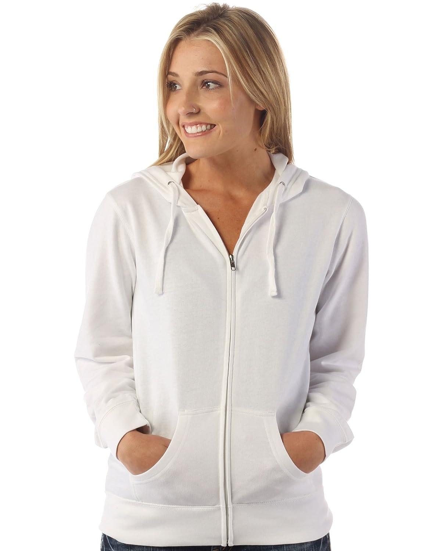 Global Women's Slim Fit Lightweight Full Zip Up Hoodie Jacket