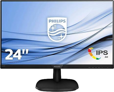 Philips 243V7QDAB/00 - Monitor IPS de 24 LCD, 23.8