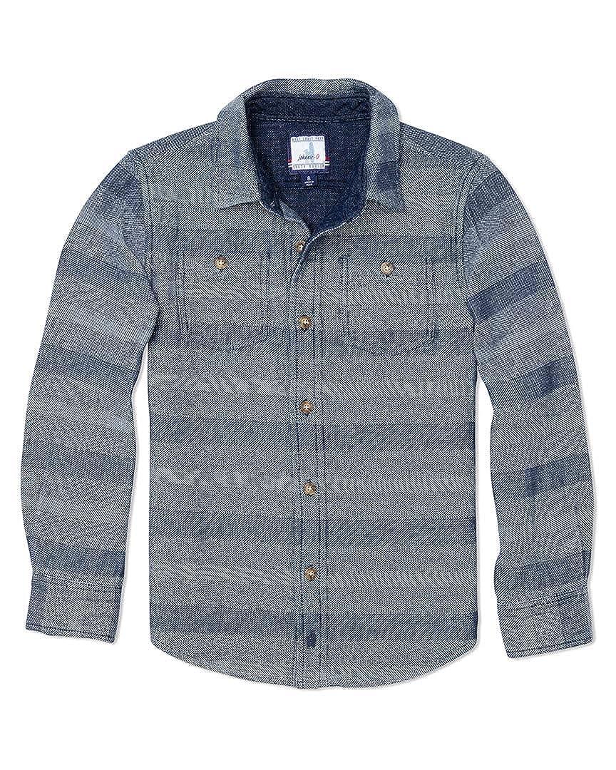 johnnie-O Boys Sport Shirt 4 Indigo