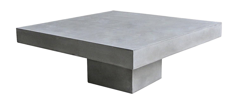 Einzigartig Couchtisch 80 X 80 Beste Wahl Sit Möbel 9973-13 Cement, 36 Cm, Leichtbeton,