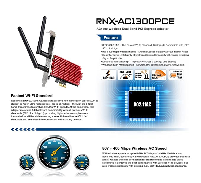 Rosewill RNX-N250PC Wireless PCI Adapter Ralink WLAN Driver Download