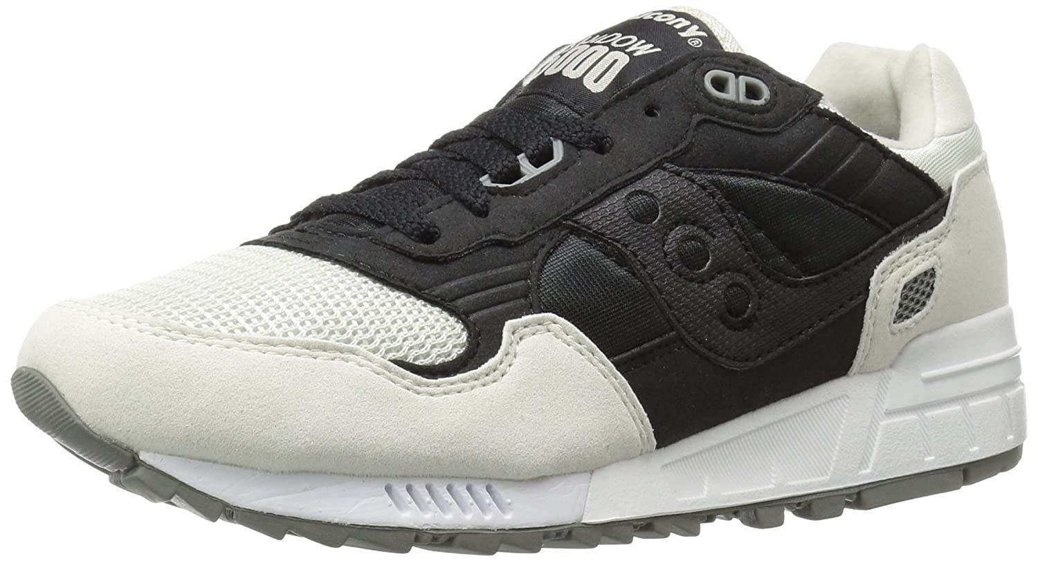 Saucony Originals Women's Shadow 5000 Fashion Sneaker B0189NKCOI 8.5 B(M) US|Black/White