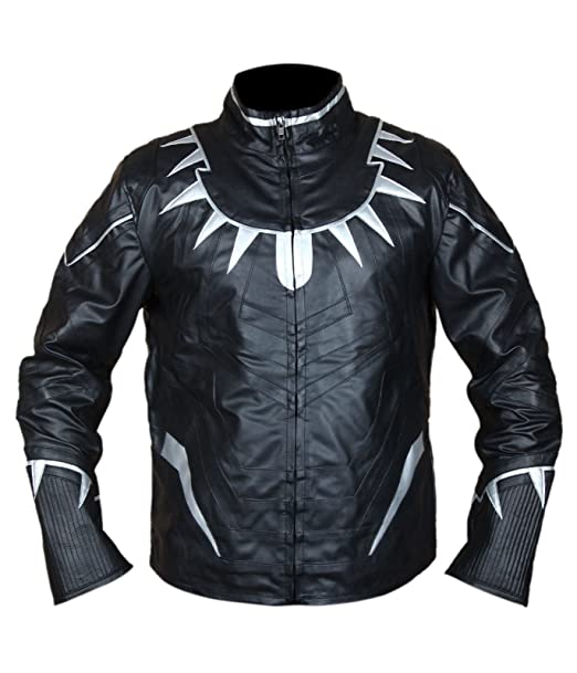 hot sales huge discount high quality guarantee Arrivals Captain America Civil War Black Panther Leather ...