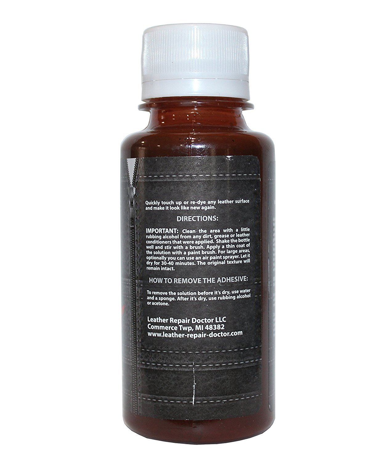 Amazon.com: Professional Dark Brown Leather Paint For Touch-Up ...