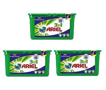 Ariel 3 en 1 Pod Liquitabs 3 x 42 tabletas. (126 lavados)