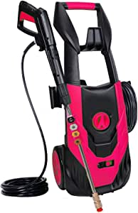 Zeccos 4500PSI 3.5GPM Electric Power Washer,Pressure Washer with 5 Quick-Connect Spray Tips and 20 Ft Pressure Hose, Washer Machine(Red)