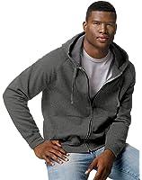 Hanes Men Nano Premium Lightweight Full Zip Hoodie