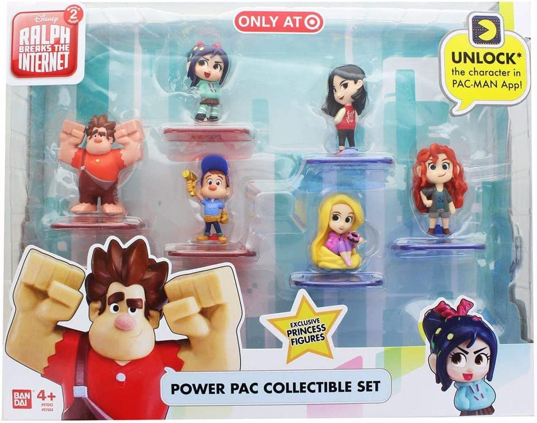 Lot of 12 Ban Dai Ralph Breaks The Internet Power Pac Figures Series 1