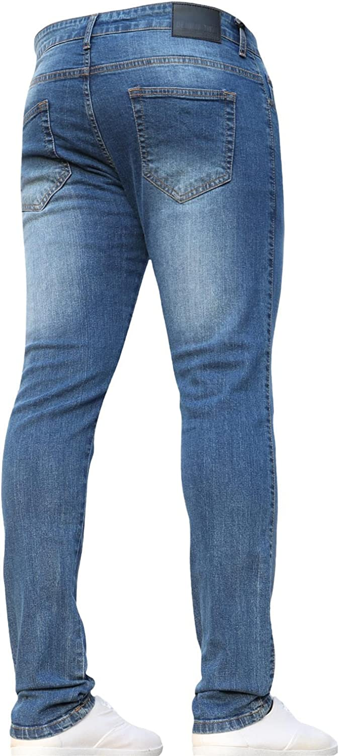 New Boys Multipack Kids Designer Stretch Slim Fit Denim Jeans with Elasticated Waist by JEANBASE