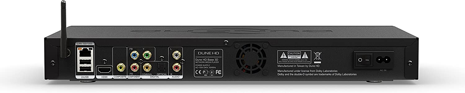 Dune BASE 3D - Reproductor multimedia, 3.5 SATA HDD: Amazon.es ...