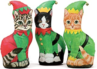 product image for Fiddler's Elbow Elf Kittens Trio, Decorative Paper Weight, Interior