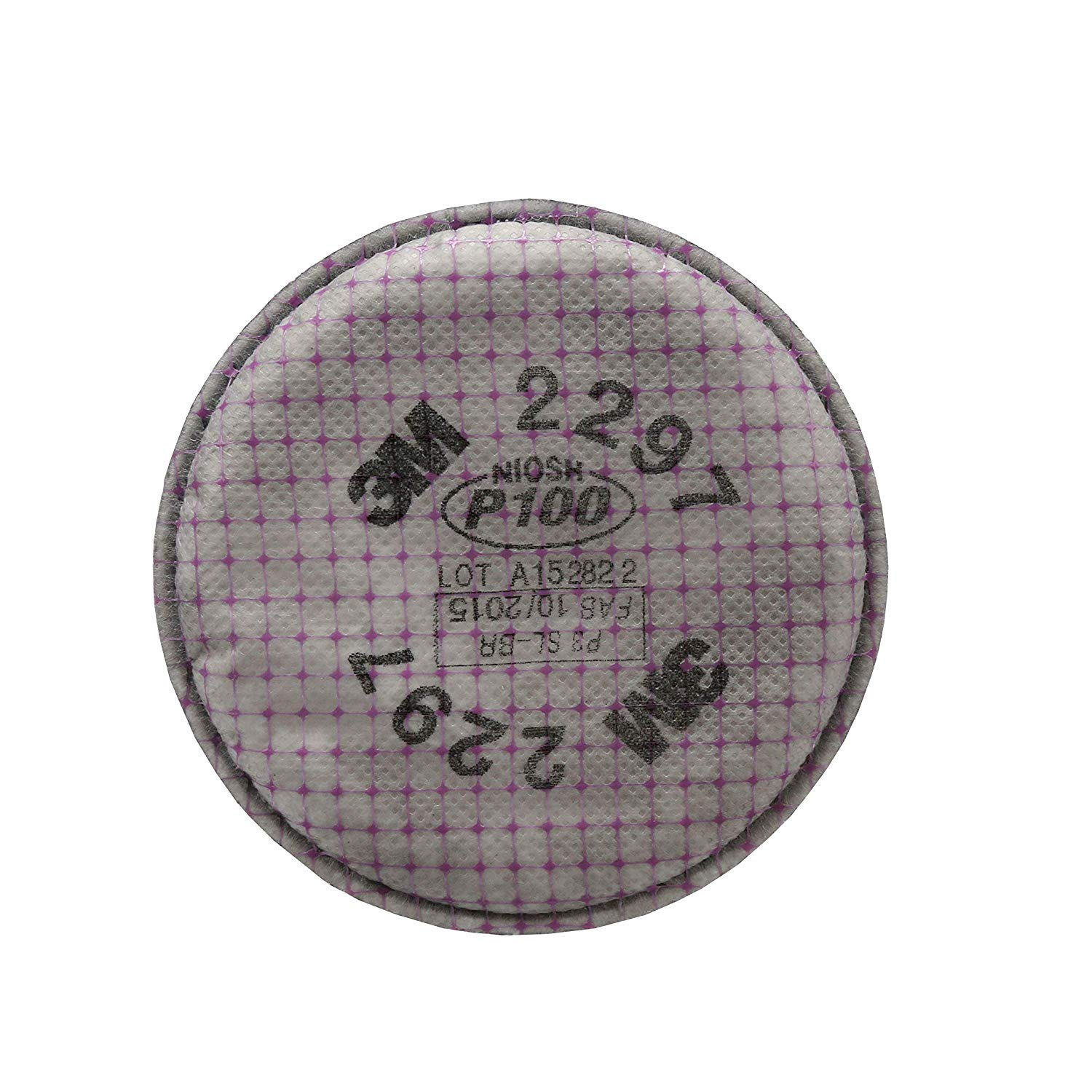 3M Advanced Particulate Filter, 2297, P100 (Pack of 9 Filters) (Pack of 9)