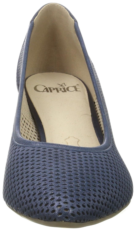 CAPRICE 22500 Damen 22500 CAPRICE Pumps Blau (Ocean Metallic) c1a908