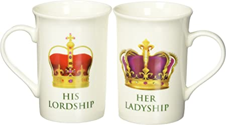 His Lordship  Her Ladyship Gift Set Fine China lp33365