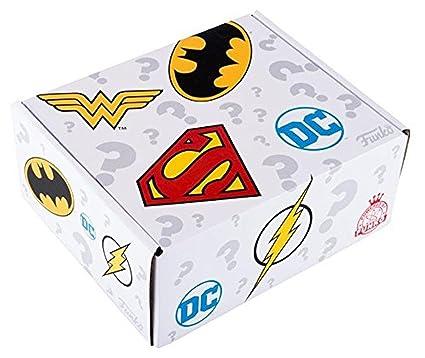8ea194e78f9 Amazon.com  Funko Pop 2016 DC Universe Walmart Exclusive Mystery Box  Toys    Games