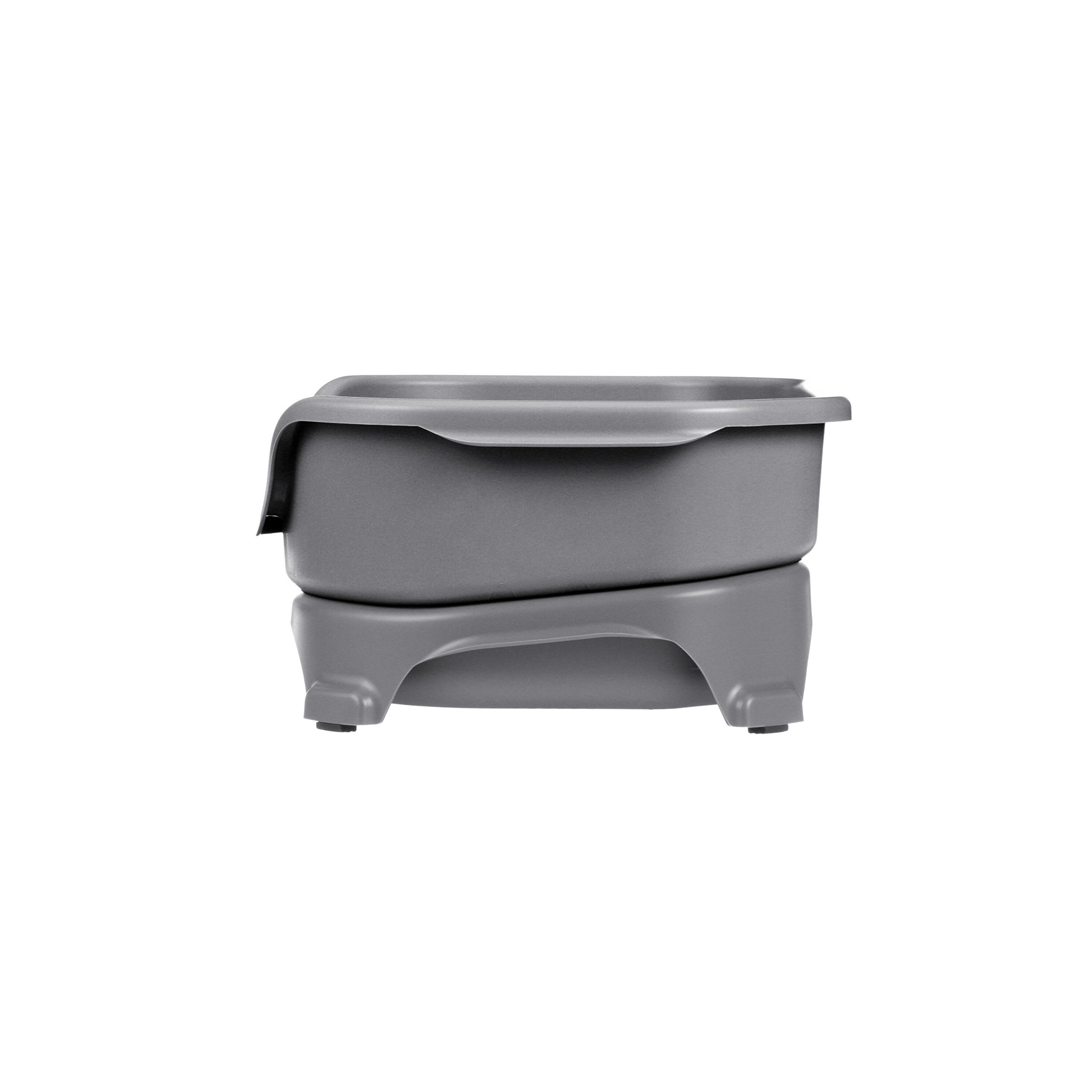 Neater Feeder Express (Small Dog, Gunmetal) - With Stainless Steel Dog Bowls and Mess Proof Pet Feeder by Neater Feeder (Image #4)