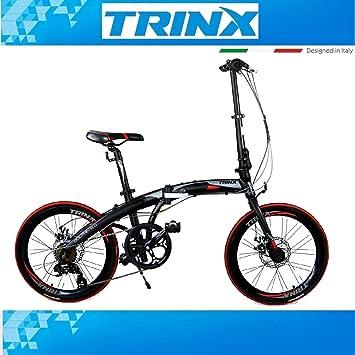 20 Pulgadas Bicicleta plegable para bicicleta trinx Dolphin 2.0 7. velocidades Shimano aluminio bicicleta plegable