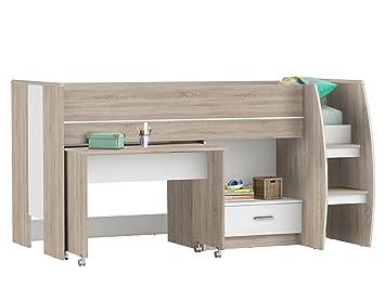Kombi Bett Etagenbett Schreibtisch Kinderzimmer Schreib Schlaf Kombi