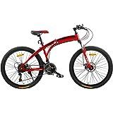 فتنس مينتس دراجة قابلة للطي، FM-F26-02S-RD