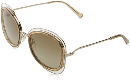 Chloé CE123S 743 56, Gafas de sol para Mujer, Gold ...