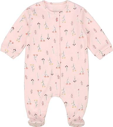 CARREMENT BEAU Pijama de algodón orgánico Bebe Albaricoque ...