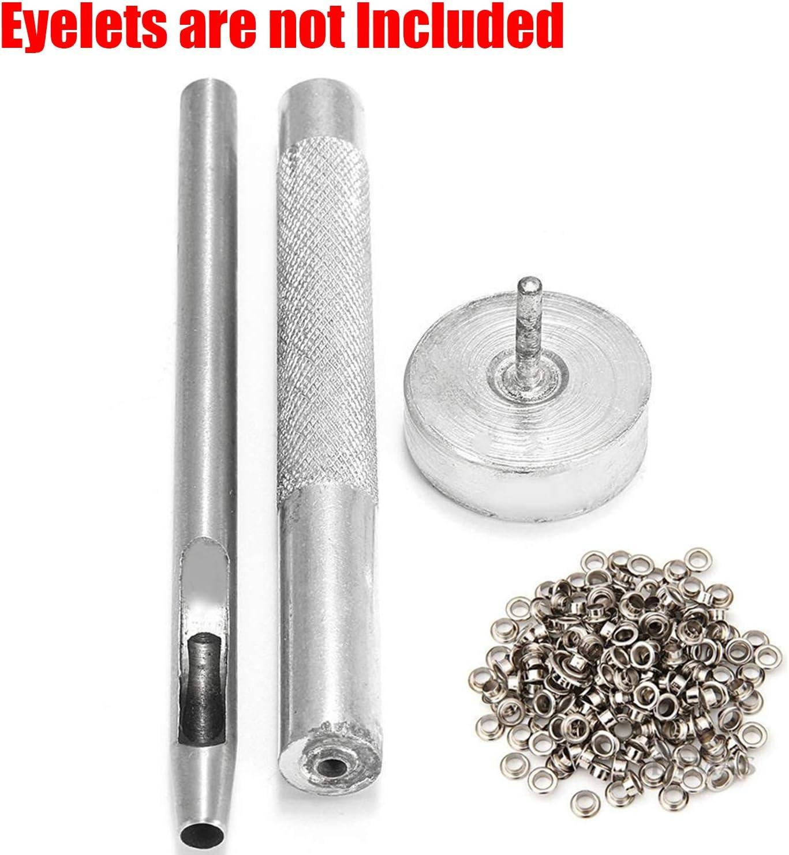 3 ~17mm Perforatrice Poinçonneuse Œillet Trousse D/'Outils pour le Cuir