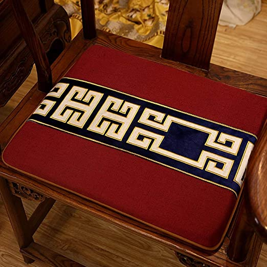 Yijiayun - Cojín para Silla (40 x 50 cm), E, 44x50cm ...