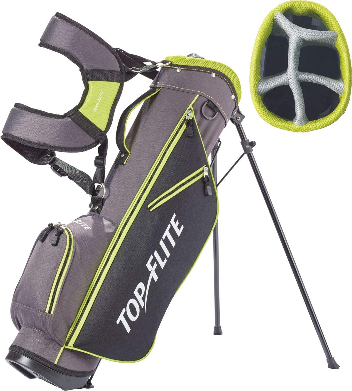 Top Flite Junior Boys Complete Golf Club Set Ages 9-12 or 53 up Kids Set