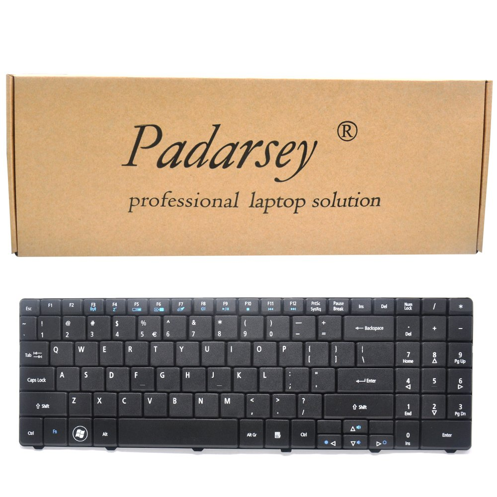 Padarsey Replacement Keyboard Compatible for ACER Aspire 5516 5517 5532 5534 5732 7315 7715 5241 5541 5541G 5732G 5334 5734 Emachines E525 E625 E627 ...