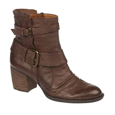 Amazon.com | Naya Women's Oxford Brown Leather Virtue 6 C US | Ankle &  Bootie