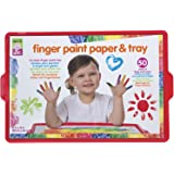 ALEX Jr. Finger Paint Paper and Tray