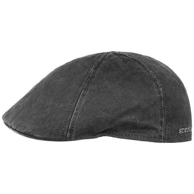 fa77910eb75c Stetson Flatcap Level para Hombre | Gorra Plana con algodón | Gorra de  Hombre con protección UV 40+ | Gorra en Look Retro | Gorra Plana ...