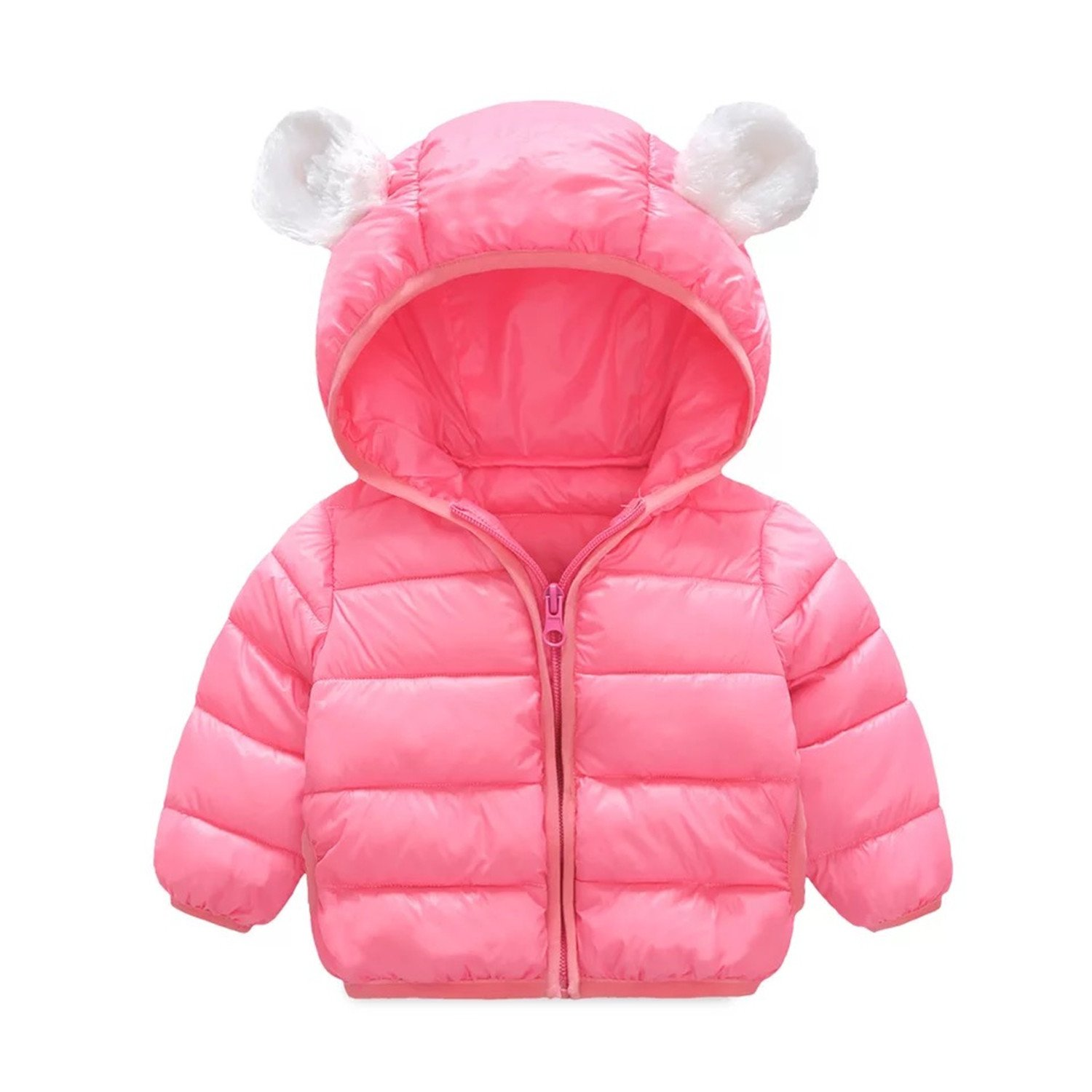 Infant and Toddler Baby Boys Girls Winter Warm Cotton Puffer Cartoon Coats Kids Thicken Jacket Outerwear