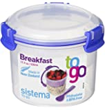 Sistema To Go Compact Breakfast Storage Container - 530 ml