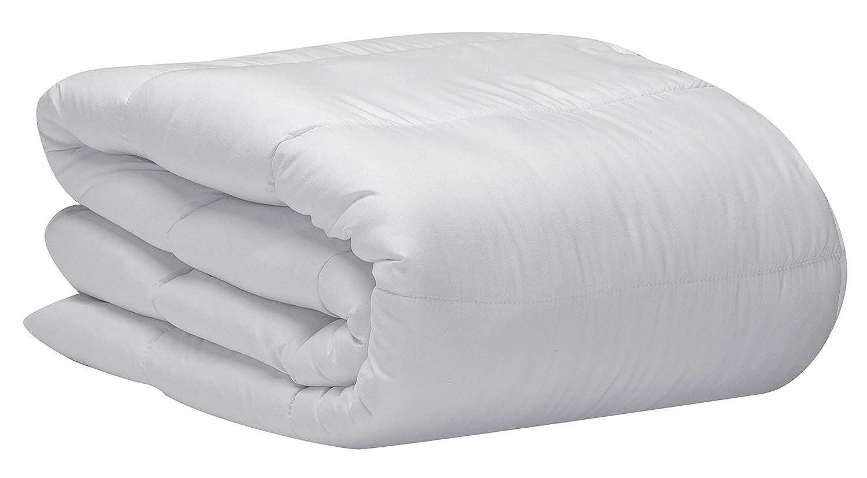 Pikolin Home - Edredón/Relleno nórdico de fibra antiácaros, otoño-invierno, 300gr/m², color blanco, 240x260cm-Cama 180 (Todas las medidas)