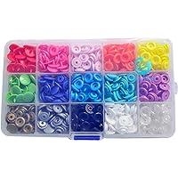 Seawhisper® 150 Uds T5 Snaps Plastico Botones en
