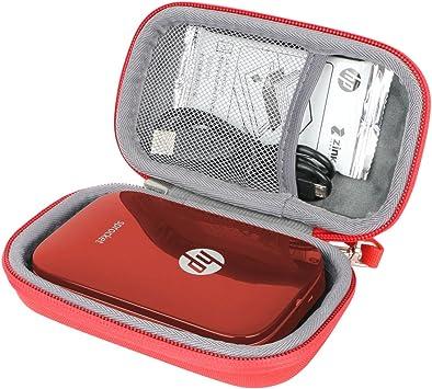 Duro Viajar Caso Cubrir para HP Sprocket: Amazon.es: Electrónica