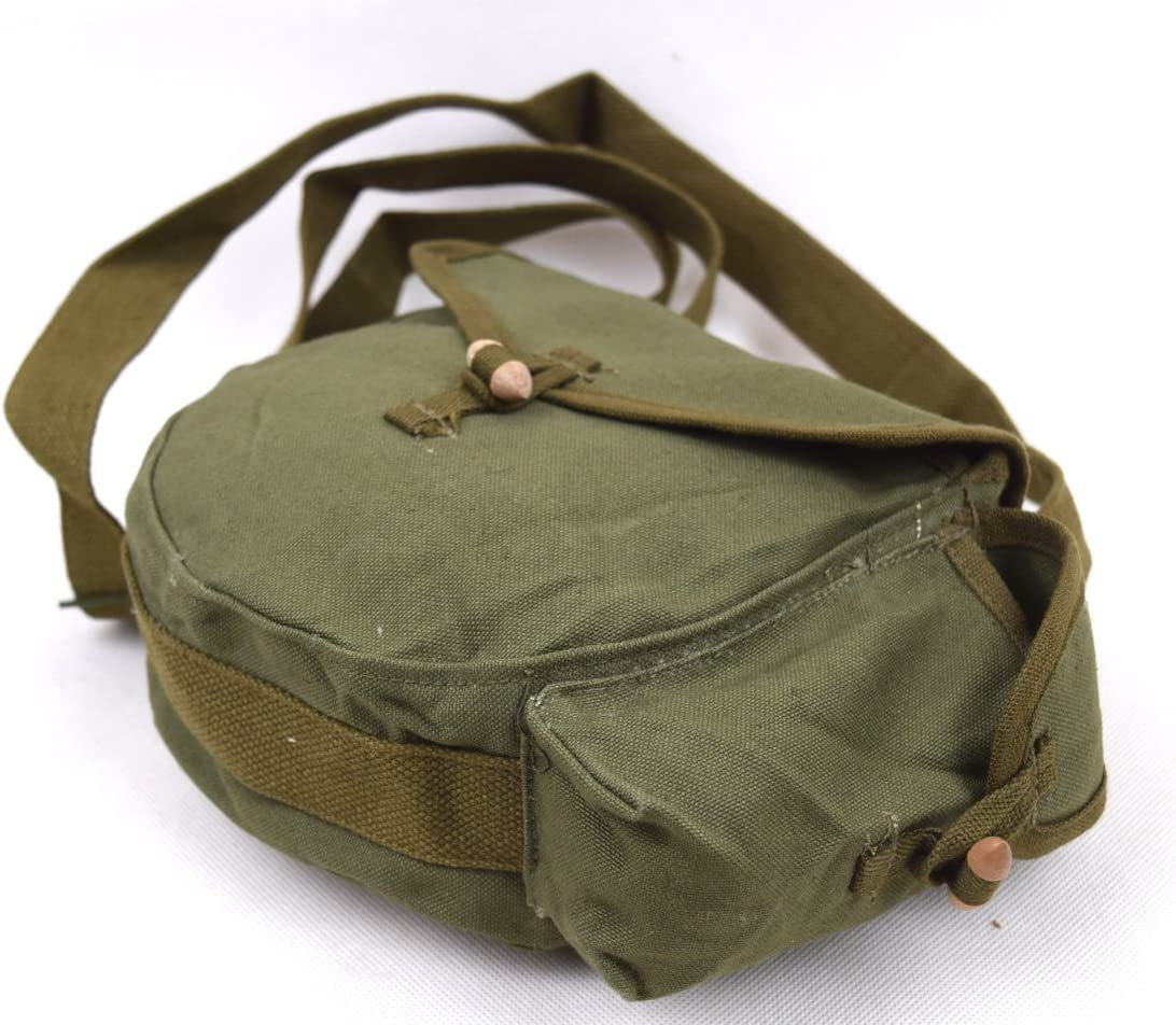 MILITARY ORIGINAL SURPLUS VIETNAM WAR PERIOD CHINESE DRUM MAG ARMY AMMO POUCH