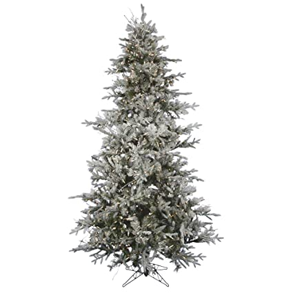 best sneakers 7c545 649db Amazon.com: Vickerman Pre-Lit Frosted Whistler Fir ...