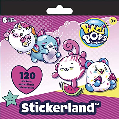 Trends International Pikmi Pops - Mini STICKERLAND 6PG Pad: Toys & Games