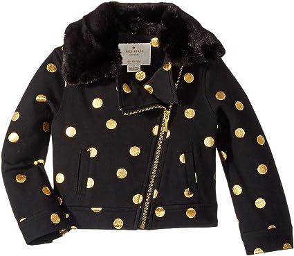 b004417a4fc3 Kate Spade New York Kids Baby Girl's Dot Moto Jacket (Toddler/Little Kids)