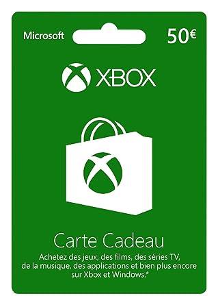 Carte Xbox Live De 50 Euros [Importación Francesa]: Amazon ...