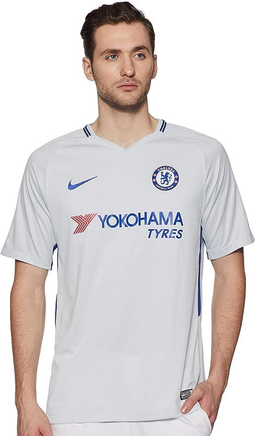 NIKE Chelsea Stadium Away Camiseta 2ª Equipación Chelsea FC 17-18 Hombre: Amazon.es: Ropa y accesorios